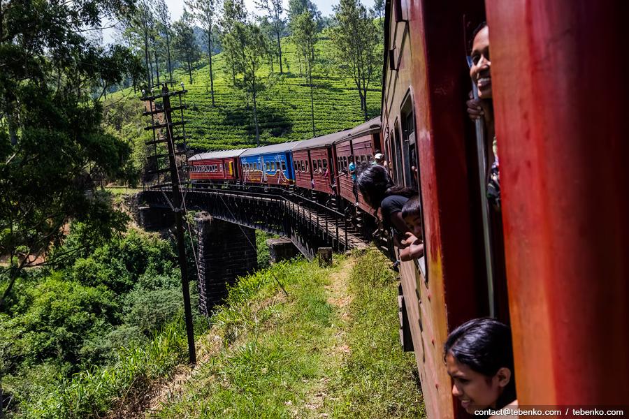шри-ланка поезд фото